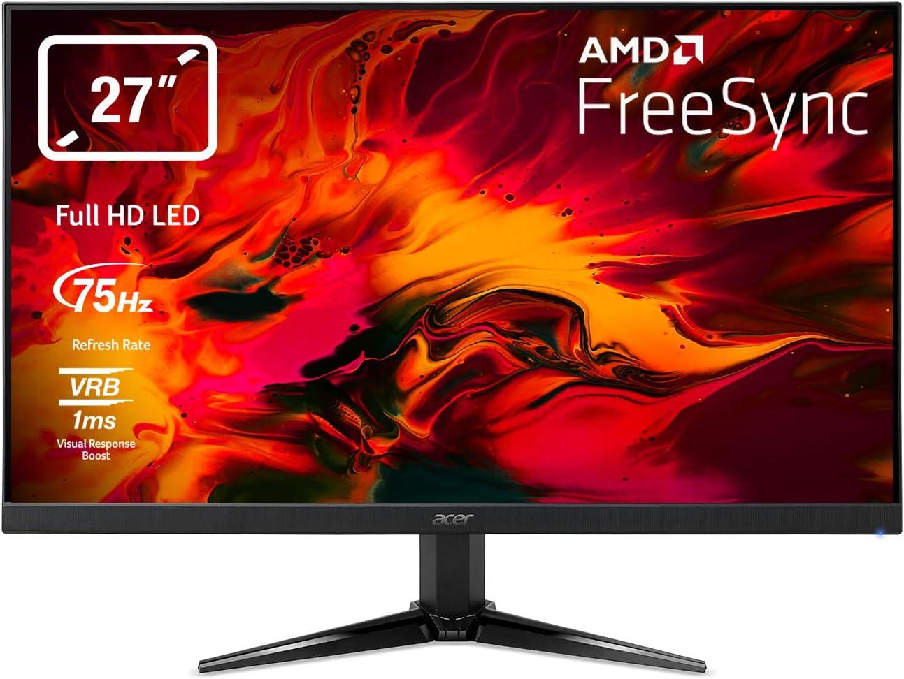 Acer Nitro QG1 Monitor, 69 cm 27