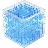 Nacome 3D Labyrinthine Ball,Money Maze Bank, Saving Coin Collection Case Box for Fun Brain Game PuzzleToy/Challenge Toys