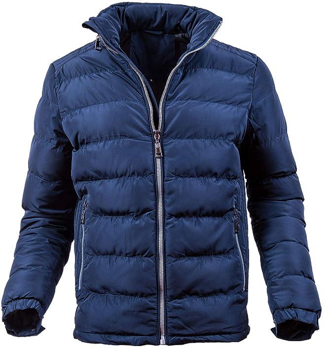 Giubbotto uomo invernale piumino con cappuccio giubbino 200