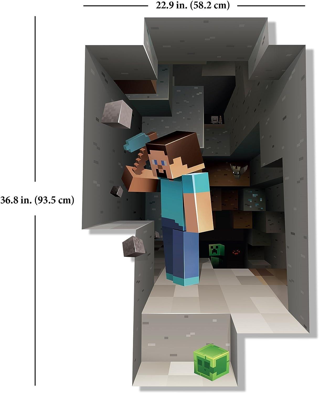 Minecraft Wall Decal Steve Mining