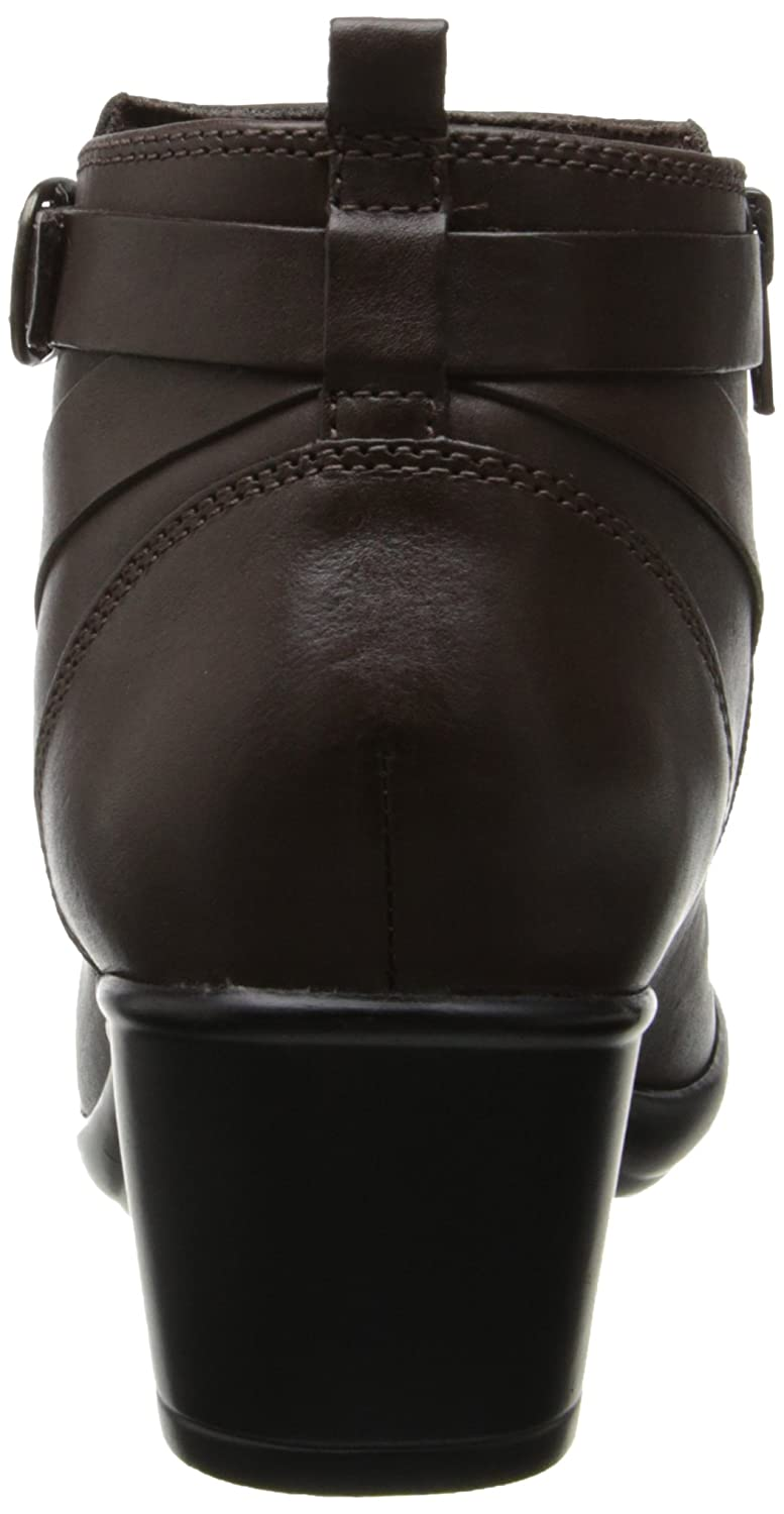 613f21d670914e Clarks Malia Hawthorn Womens Brown Leather Fashion Ankle Boots 2.5 UK UK  2.5  Amazon.co.uk  Shoes   Bags