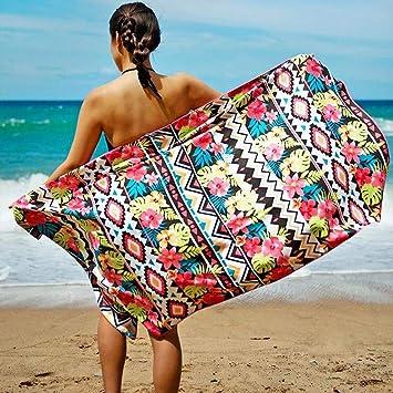 Amazon.com: Toallas de playa rectangulares para viajes ...