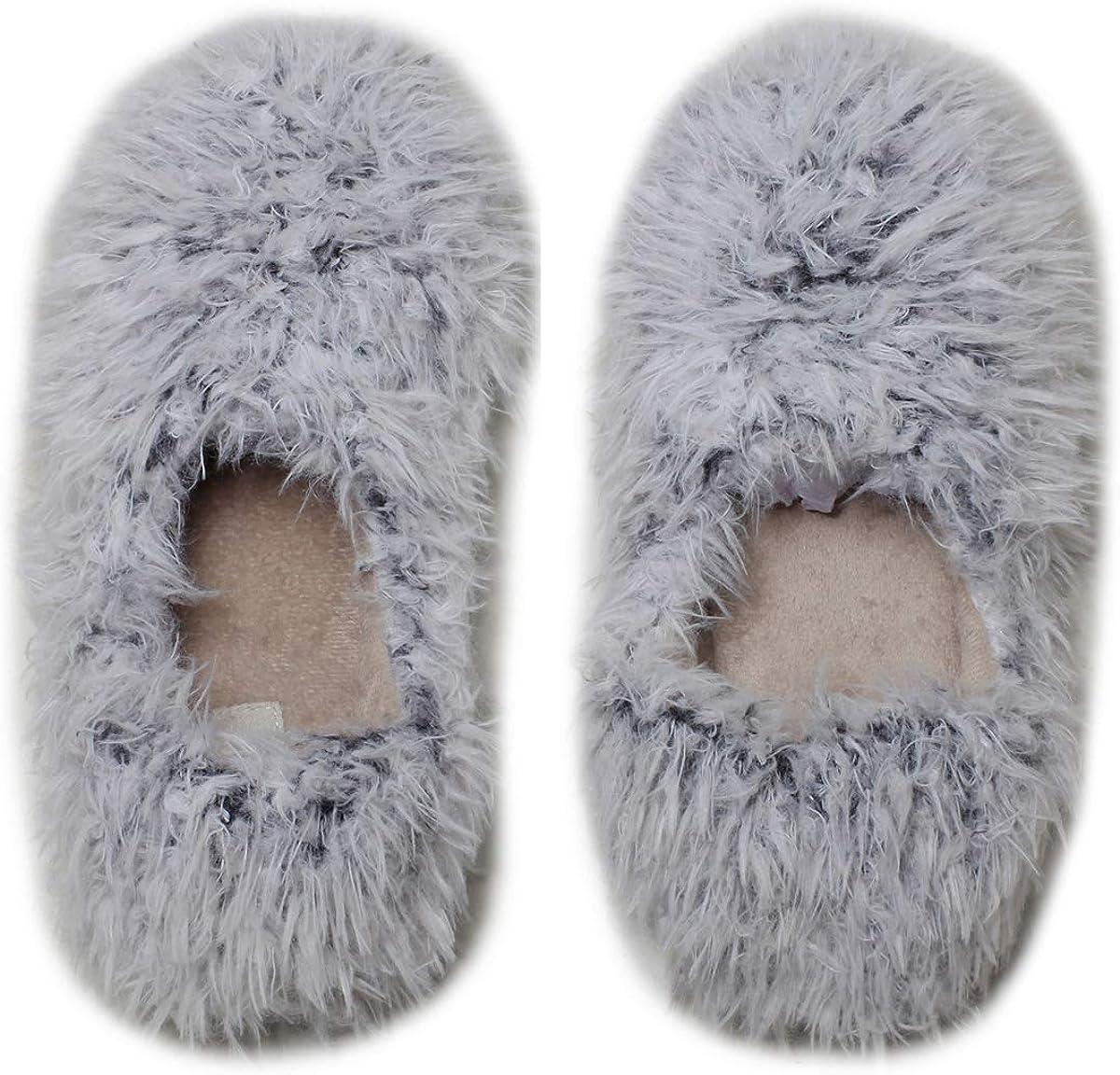 mianshe Women's Cute Faux Fur Closed