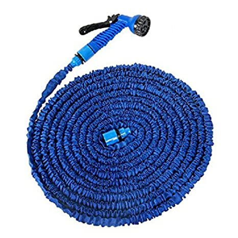 amazon com 100 feet expanding magic hose with gun water garden pipe