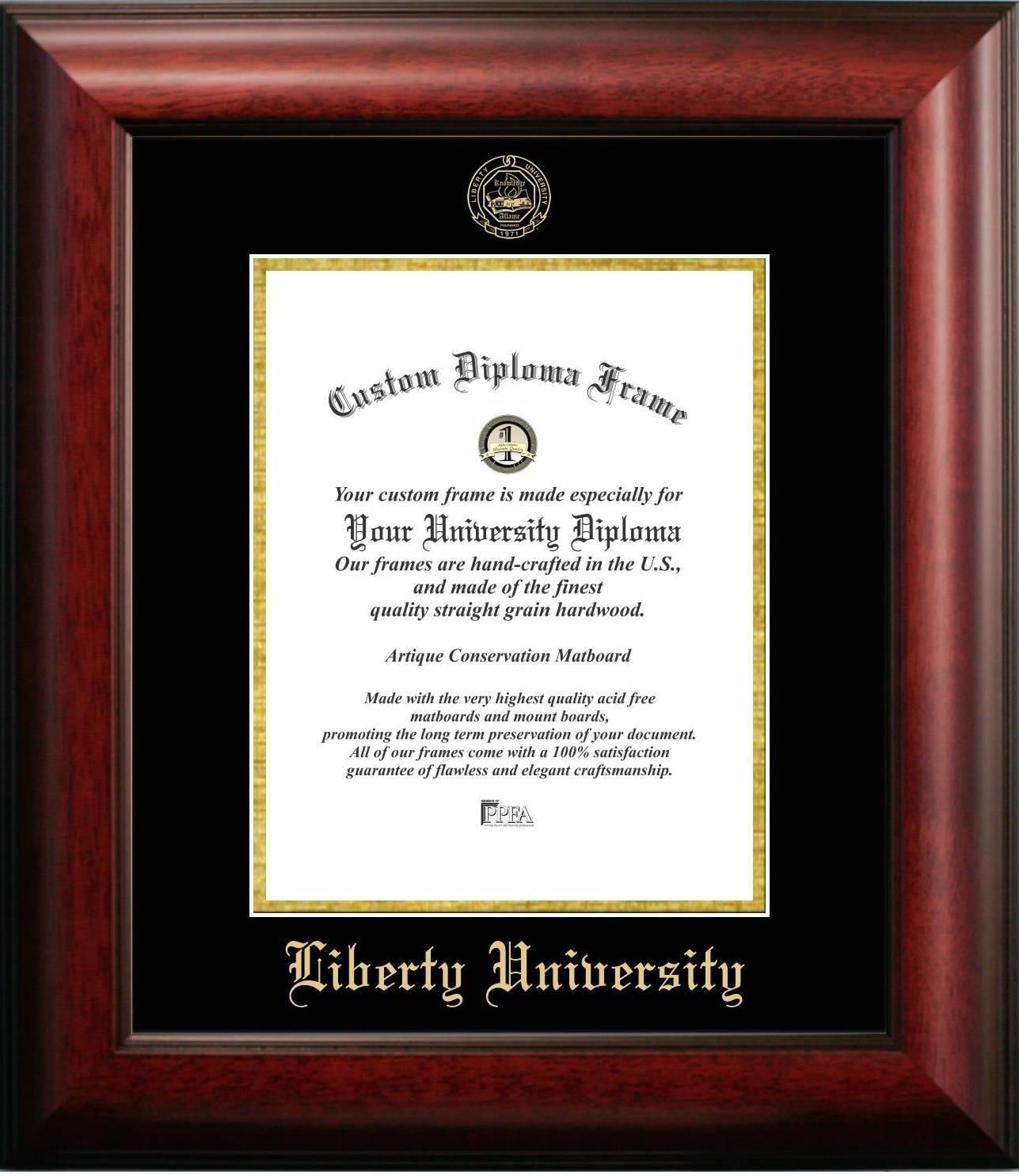 Amazon.com - Liberty University Graduation Diploma Frame (14 x 17) -