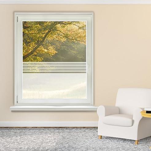 Fensterfolie Glasdekor Sichtschutz Fensteraufkleber Badezimmer ...
