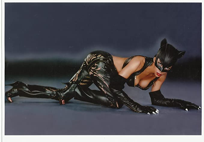 Halle Berry As Catwoman In Costume Crawling 8 X 10 Photo At Amazons