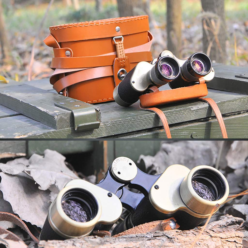 Lljin 6x24 HD Professional Binoculars for Adults, with Low Light Night Visionu