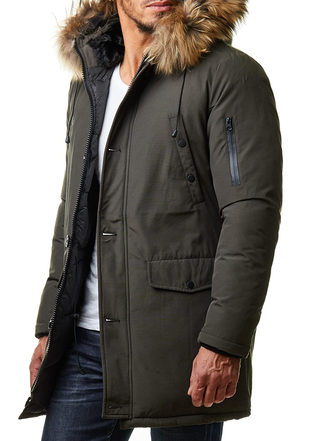 Winter jacke fell herren
