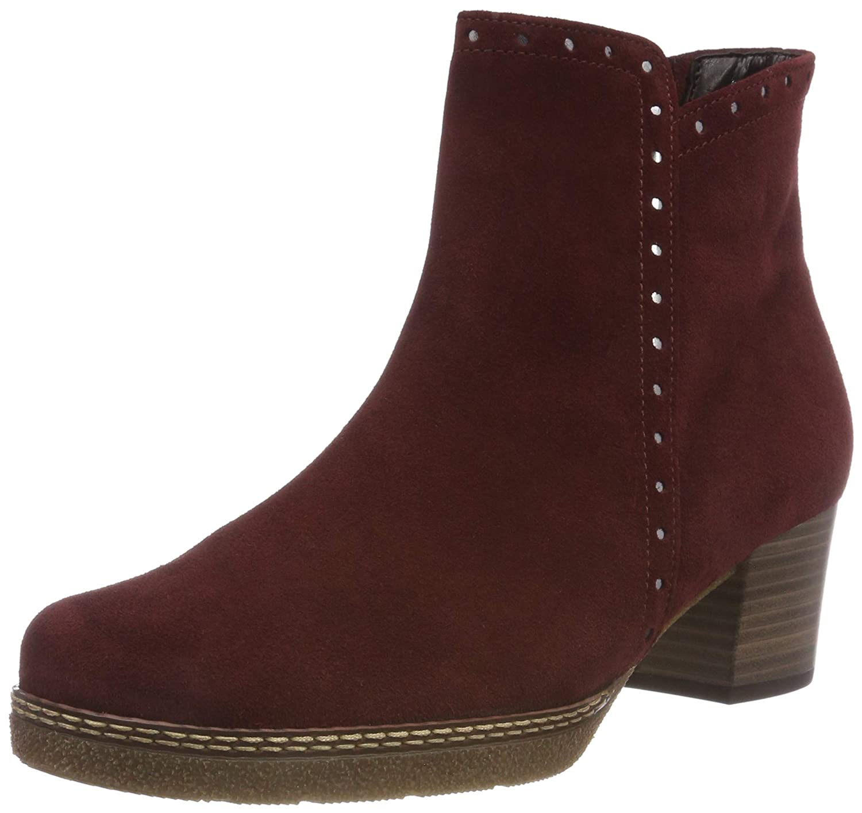 Gabor Shoes Comfort Basic, Basic, Botines Femme 19994 Rouge 38) (Dark-red (Micro) 38) 3eba9cc - latesttechnology.space
