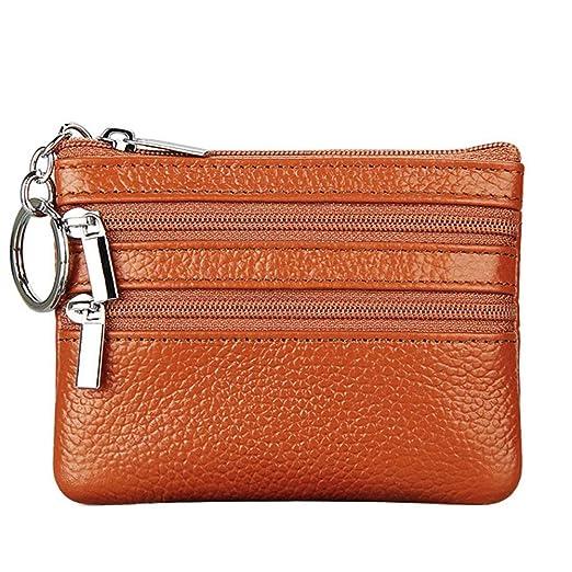 Women's Genuine Leather Coin Purse Mini Pouch
