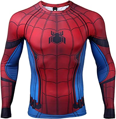 Far From Home Peter Parker Cosplay 3D T-Shirts Tee Sports 2019 Movie Spider-Man