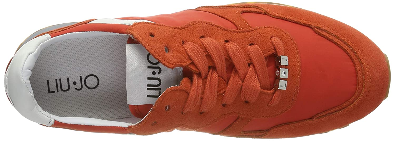 Liu Jo Shoes Womens Alexa Running Scarlet Low-Top Sneakers