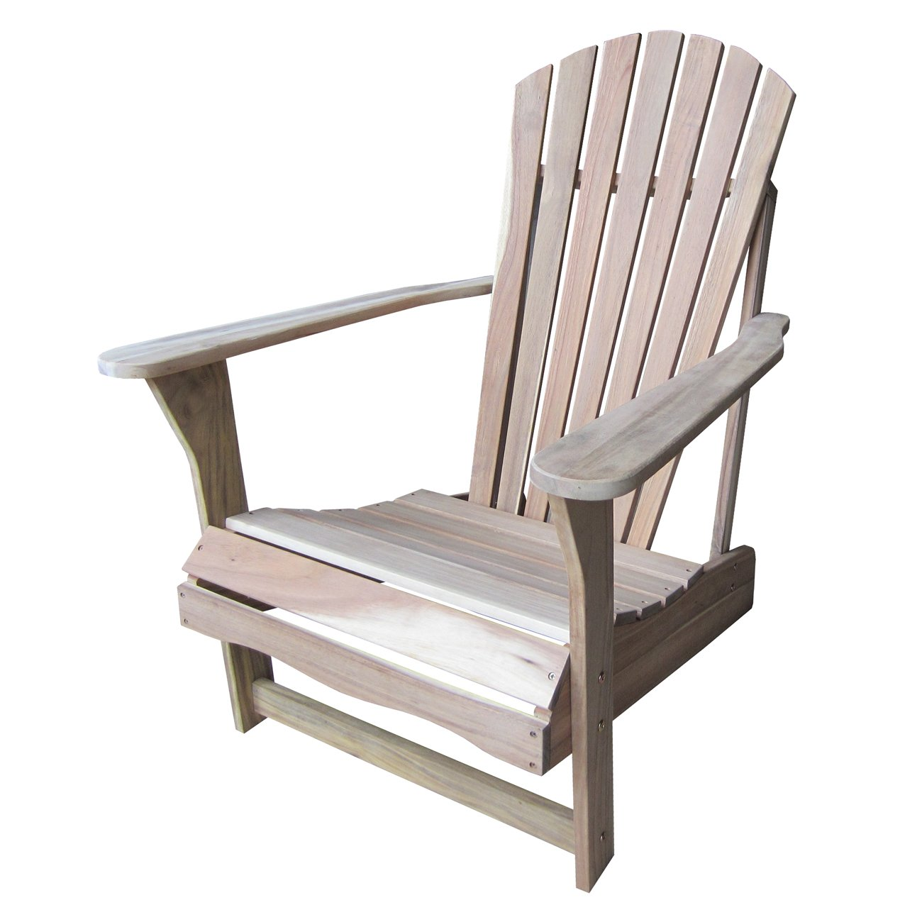 Amazon.com: International Concepts Adirondack Chair, Unfinished: Kitchen U0026  Dining