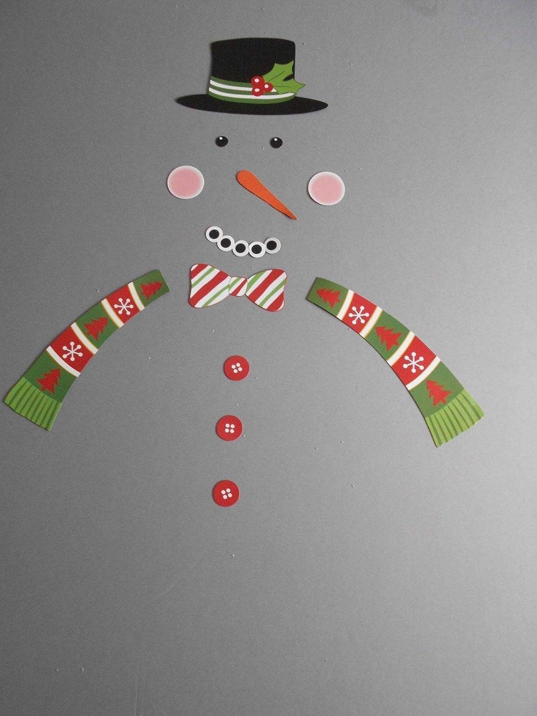 13 piezas de muñeco de nieve Navidad nevera nevera imán nevera ...