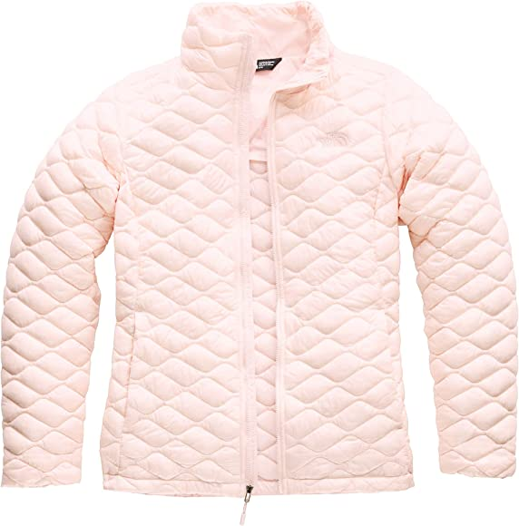 da404e318e7 Thermoball Full Zip Jacket Womens. The North Face Women's Thermoball Jacket,  Pink Salt, Size XS