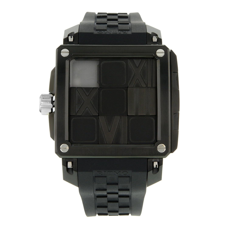 Ritmo Mundo 501-3 Edelstahl Automatik Herren-Armbanduhr