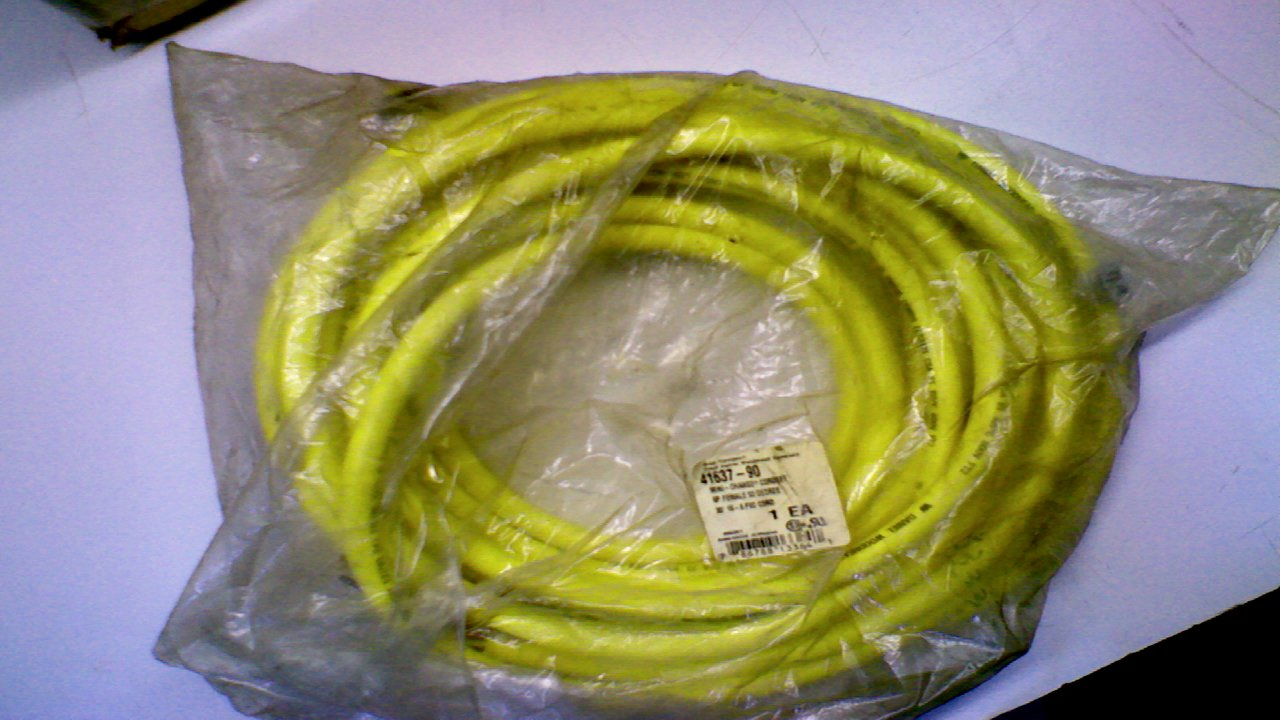 Brad Harrison 41637-90 Cordset 6 Pole Female 90 Degree 30 41637-90