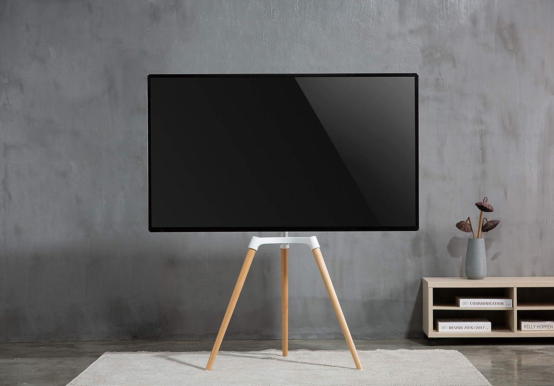 FOREST Universal Pastel caballete estudio trípode TV soporte, 50″-65″ TVs: Amazon.es: Electrónica