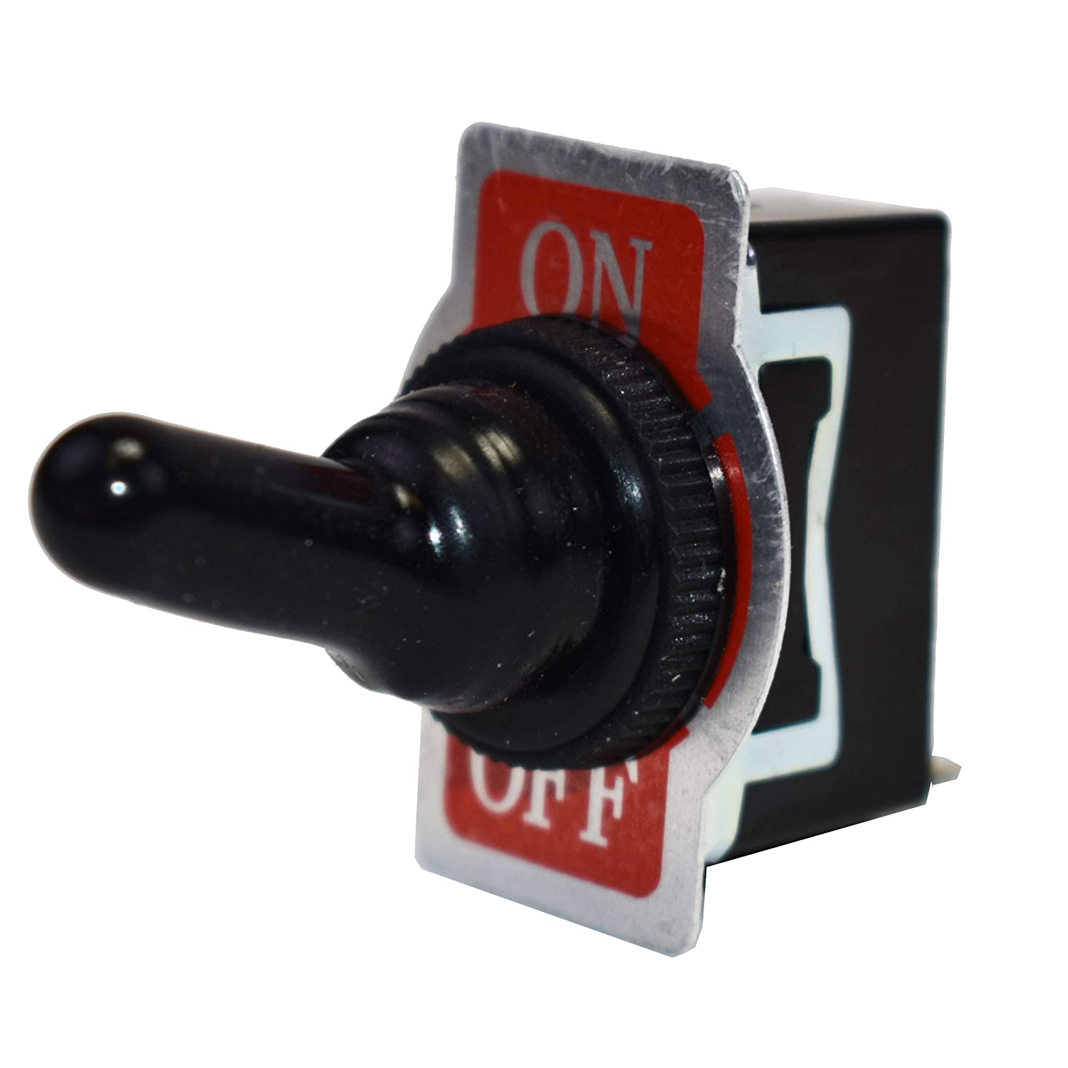 Fastronix SPST ON-OFF Heavy Duty 20 Amp AC//DC Toggle Switch with Weatherproof...