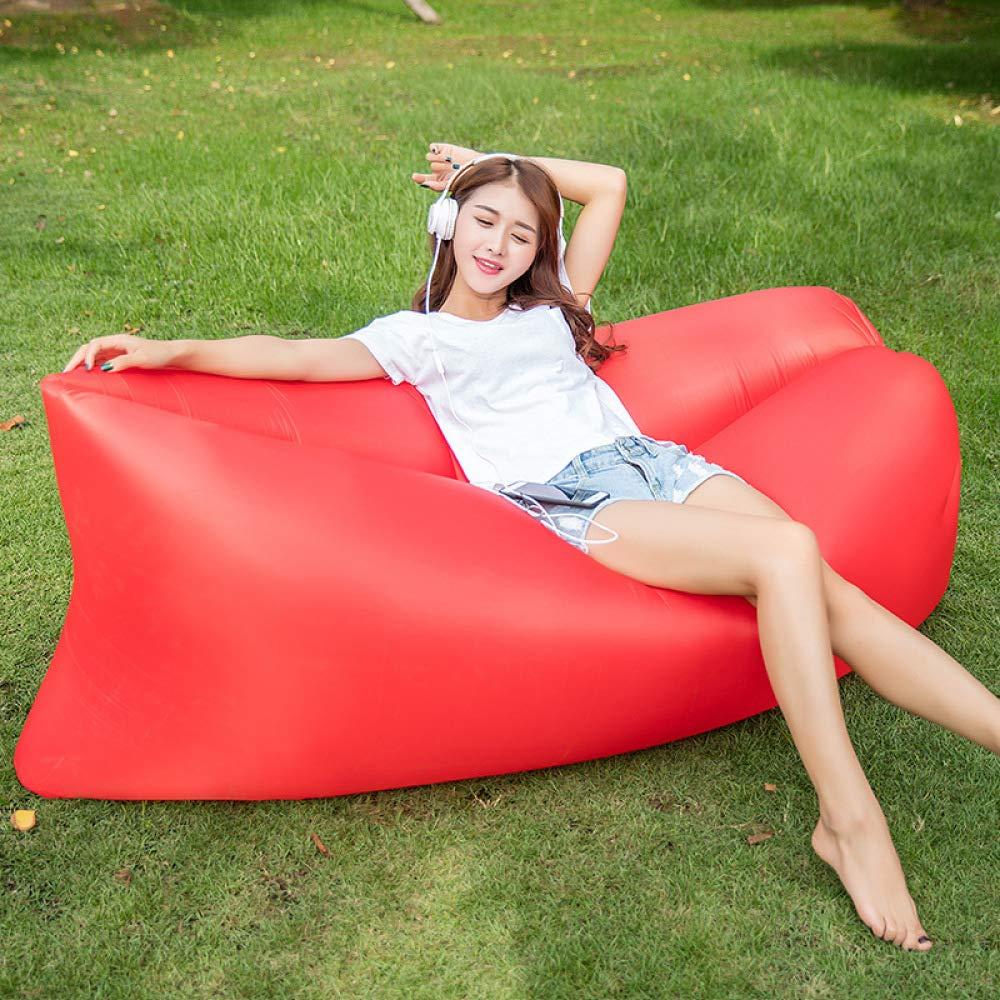 Myzixuan Tragbare Rest aufblasbares Bett aufblasbare Sofa einfaches Feld nach Hause frisch, aufblasbare Sofa