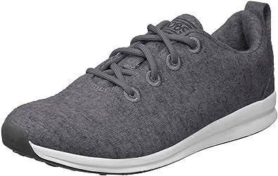 Amazon.com | Skechers Women's Bobs Phresh-Lil Flash. Boiled Wool Oxford W  Memory Foam Sneaker | Oxfords