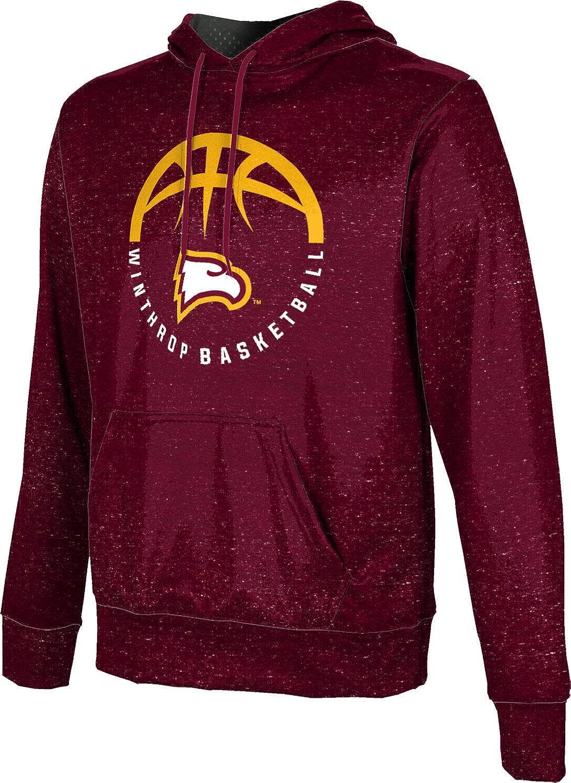 Heather School Spirit Sweatshirt ProSphere Winthrop University Basketball Mens Pullover Hoodie