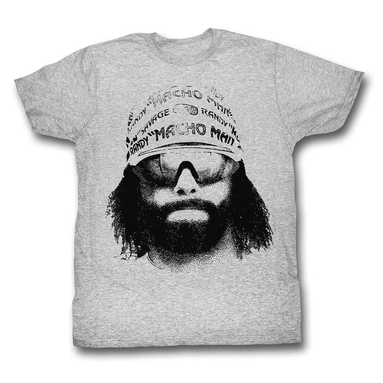 Macho Man - Mens Face T-Shirt