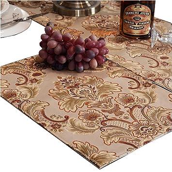 Amazon.com: QXFSMILE, camino de mesa con diseño ...