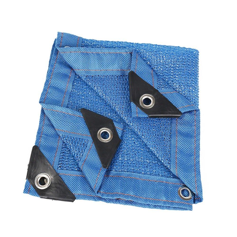 Blu Bordo a 6 Pin Ombra Netto Rete di Protezione del Tetto Netto Rete Solare Protezione Solare Rete di Protezione Netta (Dimensioni   5  5m)