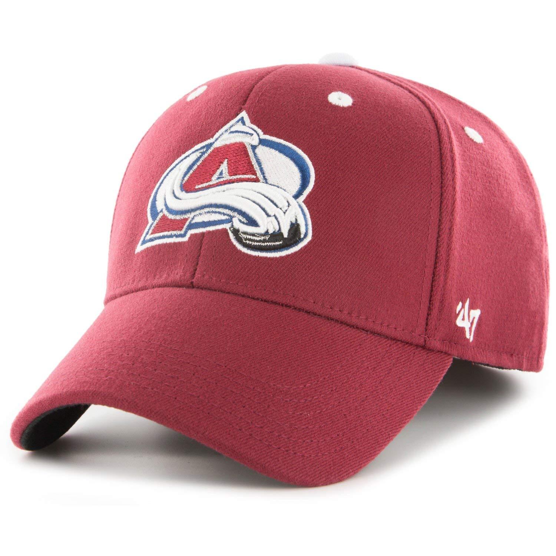 47 Brand Stretch Cap Kickoff Colorado Avalanche Cardinal