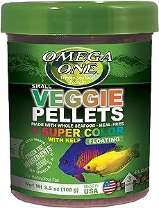 Omega One Super Color Veggie 3mm Floating Pellets with Kelp
