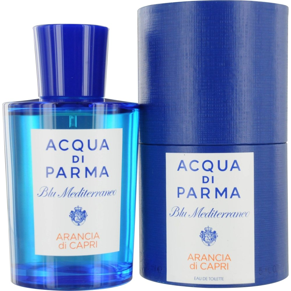 Acqua Di Parma Blue Mediterraneo Arancia Di Capri Eau De Toilette Spray for Men, 5 Ounce by Acqua Di Parma