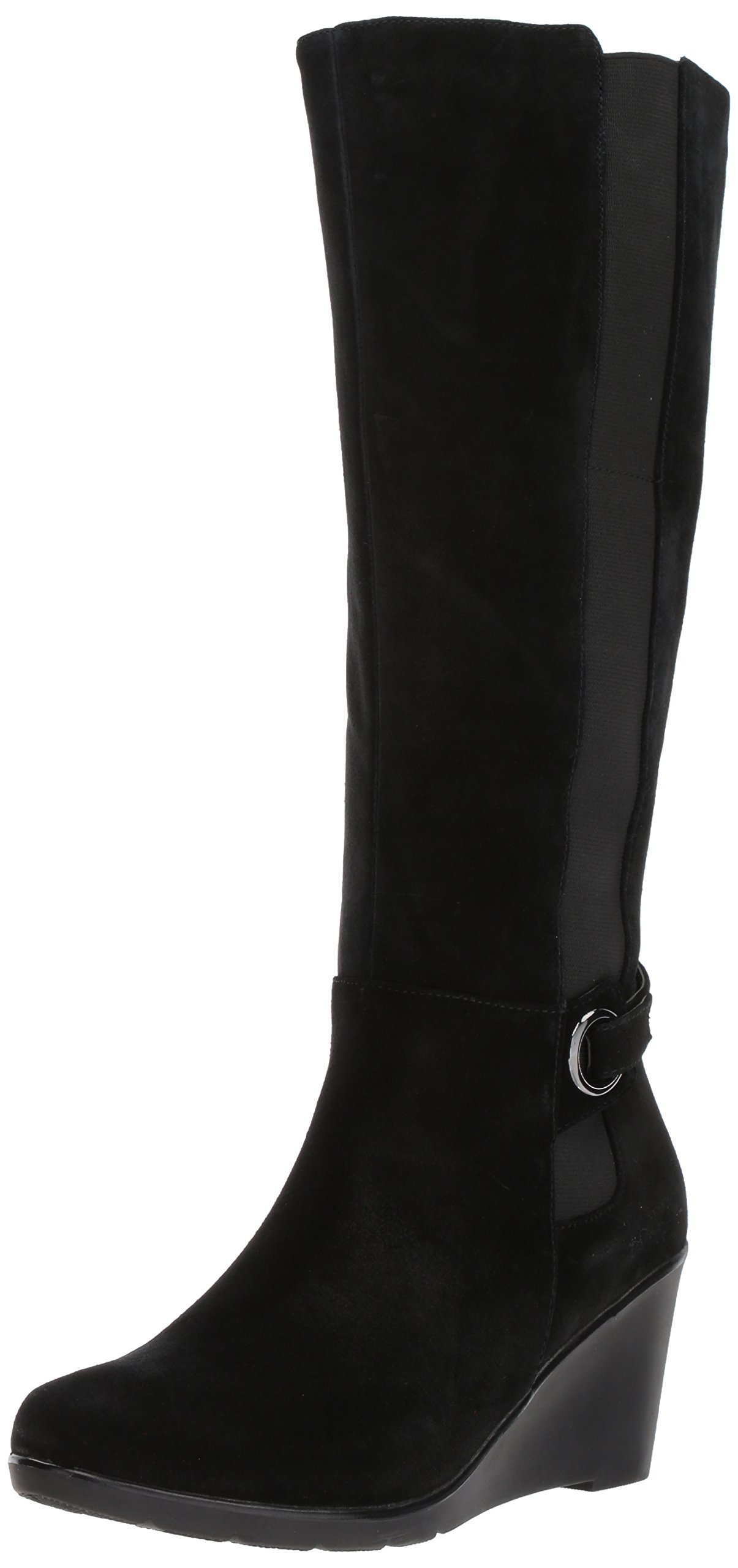 Blondo Women's Lexie Waterproof Winter Boot, Black, 5.5 M US