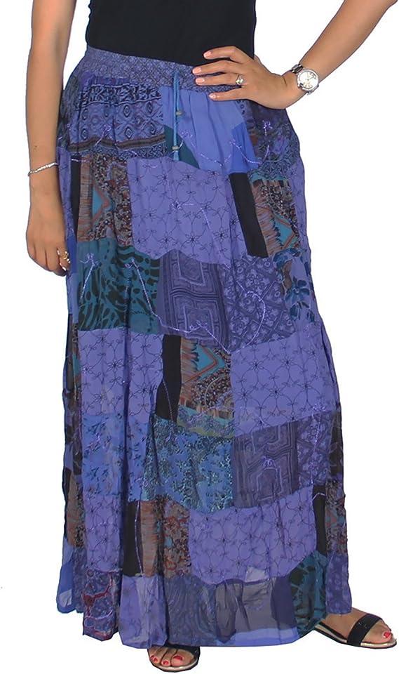 KayJayStyles Mujer Hippie bohemio gitano Vintage Ethnic Patchwork ...