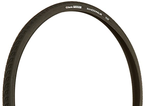Black, Vittoria 37-622 Randonneur II Trekking Tire 700cm Wheel Size x  25//40