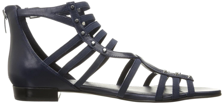 Marc Fisher Women's Partner Flat Sandal B06XT9MZ73 9 B(M) US|Blue