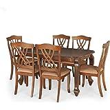 Royal Oak Spyker Six Seater Dining Table Set (Walnut)