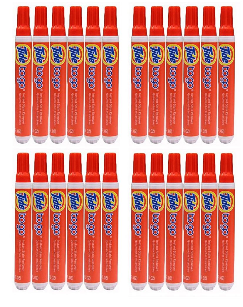 Tide Pens To go Instant Stain Remover 10ml(0.33 FL oz.) - (Pack of 24)