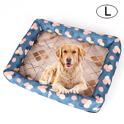 FOONEE Alfombrilla de Refrigeración para Mascotas Cama de Perro o Gato Acolchada con Cojín de Refrigeración