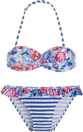 Bikini Set 3727 Jaune Bain NEUF MAYORAL fille 2tlg