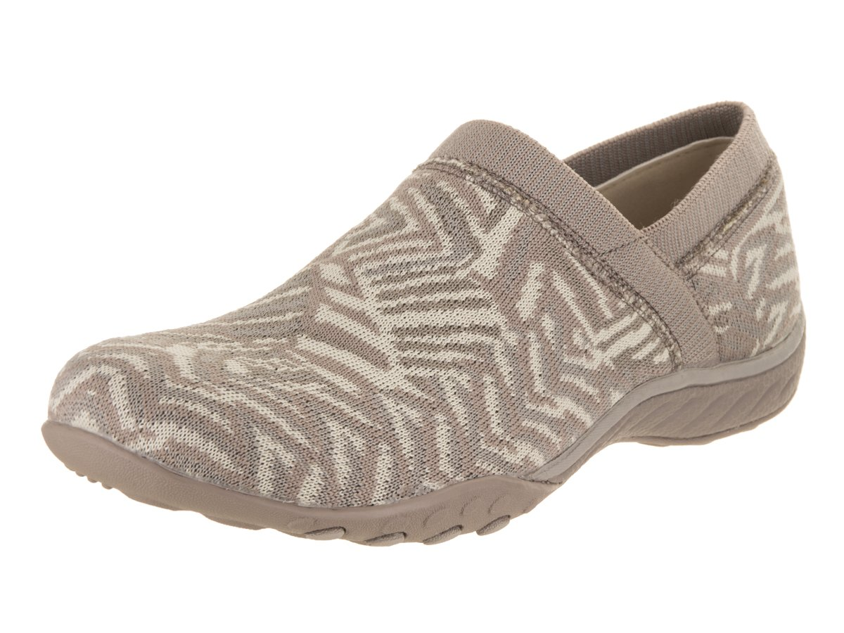 Skechers Women's Breathe-Easy - Lassie Taupe/Natural 8.5 B US