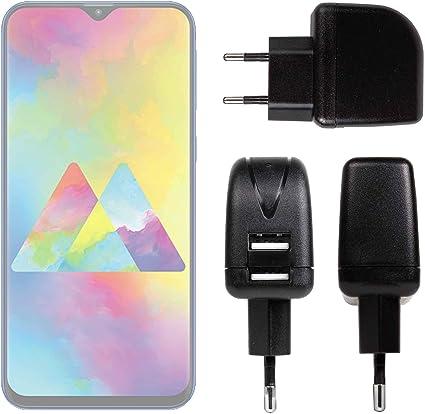 DURAGADGET Cargador con Enchufe Europeo para Smartphone Samsung Galaxy M10, Samsung Galaxy M20: Amazon.es: Electrónica