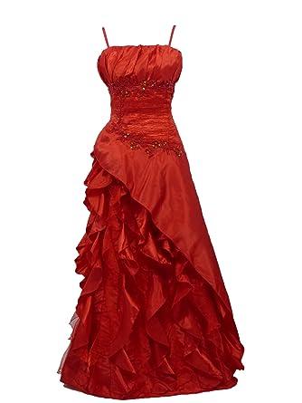 Robe dentelle rouge amazon
