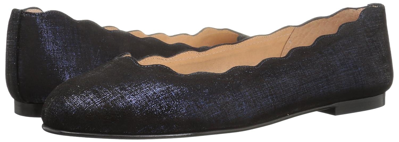French Sole FS/NY Women's Jigsaw Ballet Flat B0725KC222 7 B(M) US|Navy