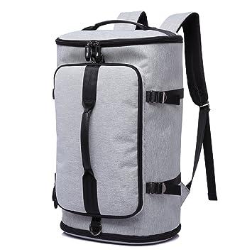 Herren Damen Leder Backpack Schulrucksack Wanderrucksack Reisen Freizeit Taschen