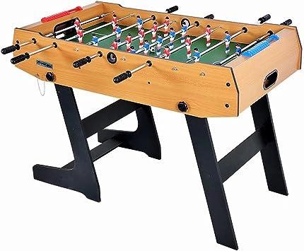 Mesa plegable de fútbol 4 pies 48 * 24 * 34 Juego de futbolín Juego de