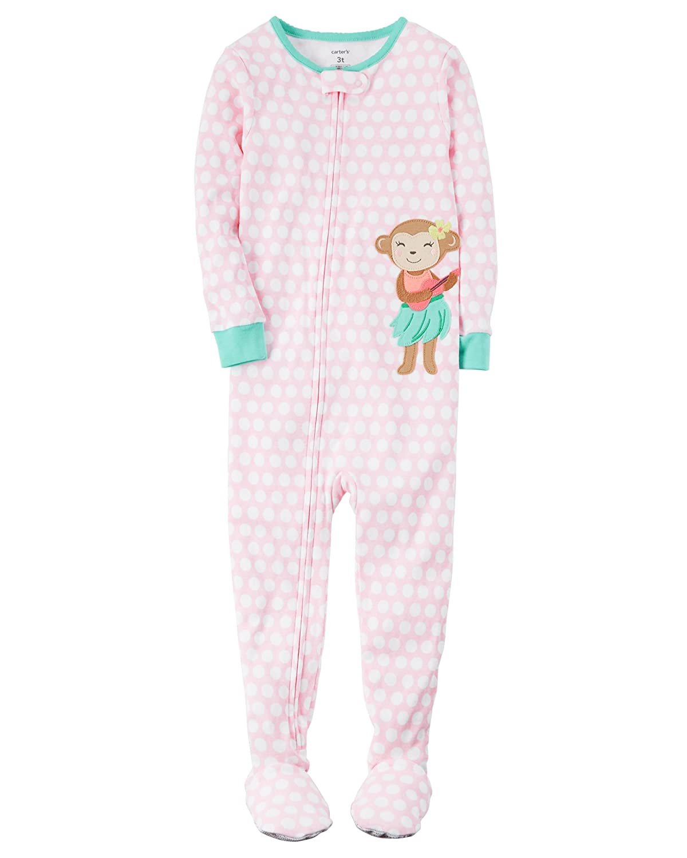 Carter's Baby Girls' 1 Piece Cotton Sleepwear Carters 331G184