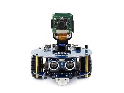 Amazon Com Waveshare Alphabot2 Robot Building Kit For Raspberry Pi