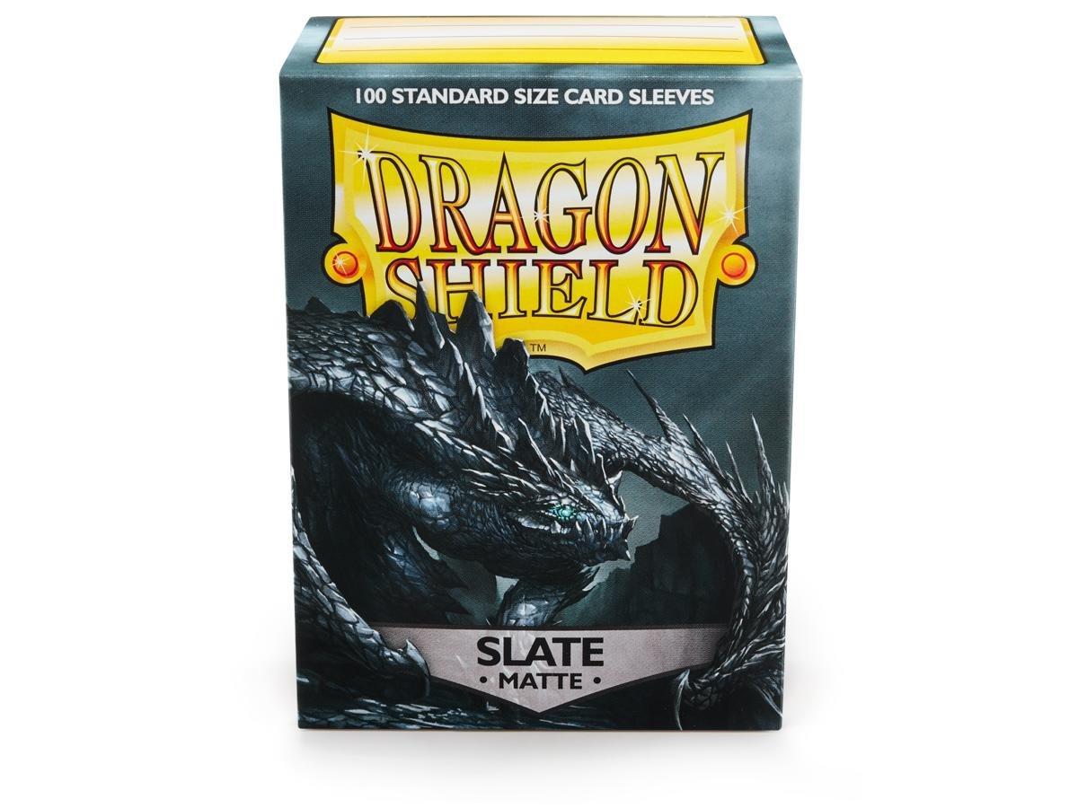 Dragon Shield Matte Slate Standard Size 100 ct Card Sleeves Value Pack - 5 packs
